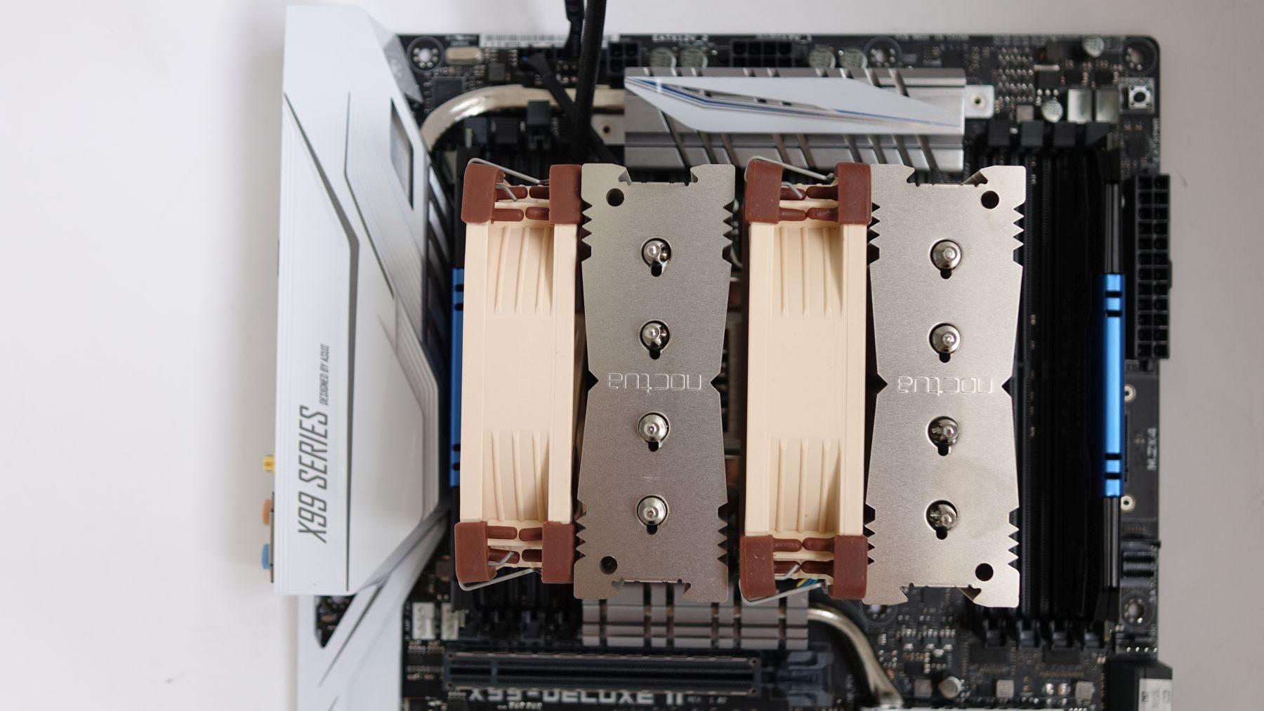 Noctua NH-D9DX i4 3U two fans