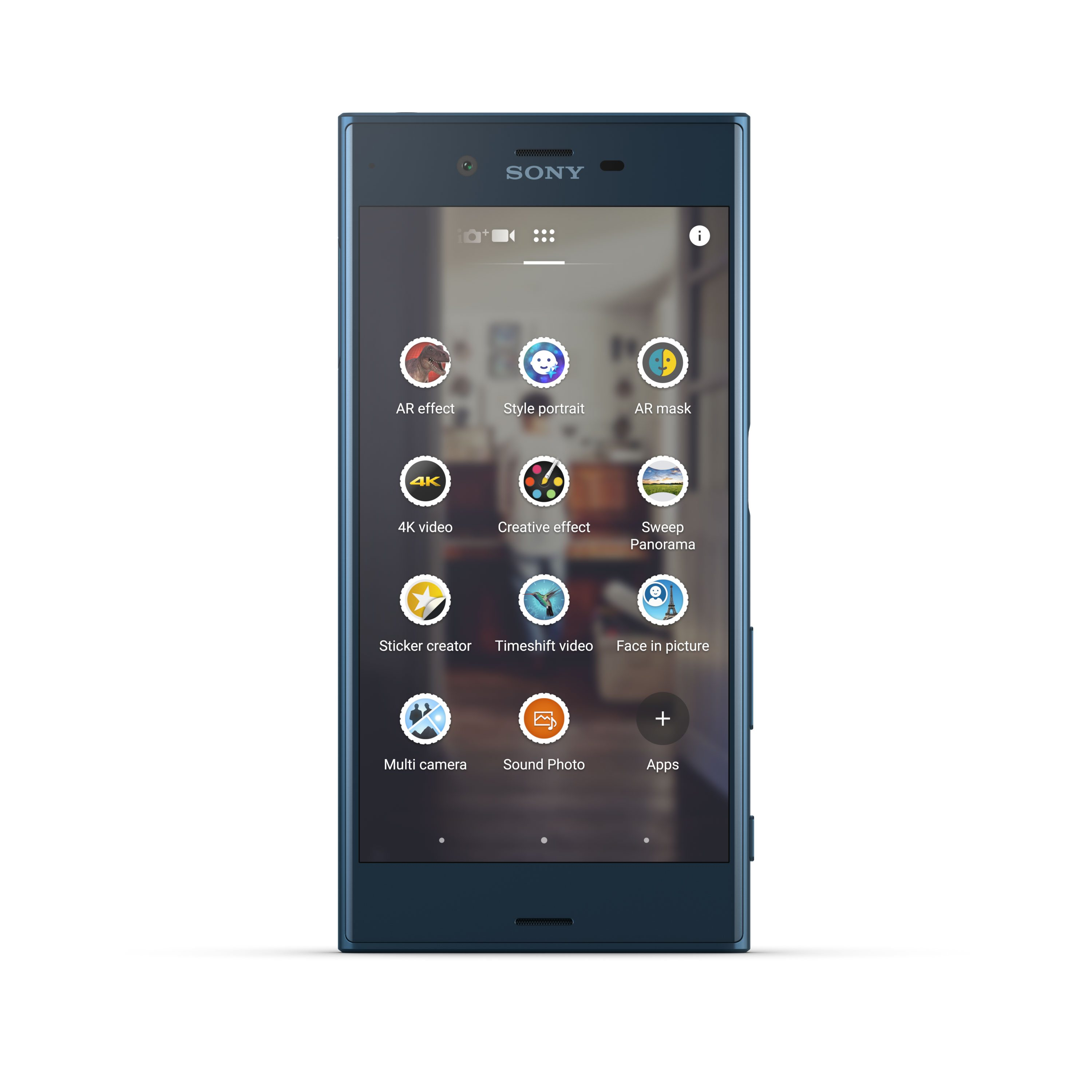 Sony-XZ-Forest-Blue-Front-1