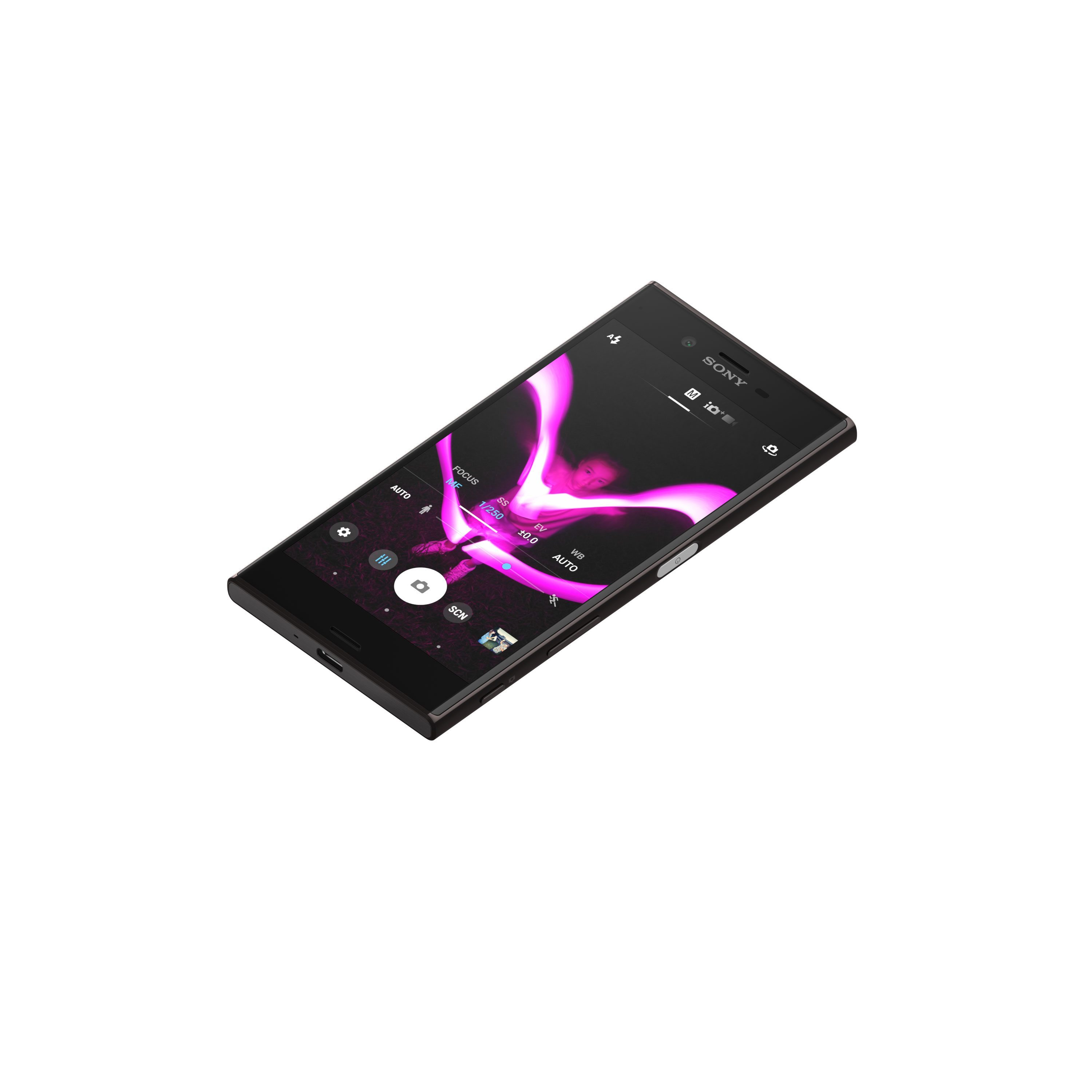 Sony-XZ-Mineral-Black-Tabletop-front