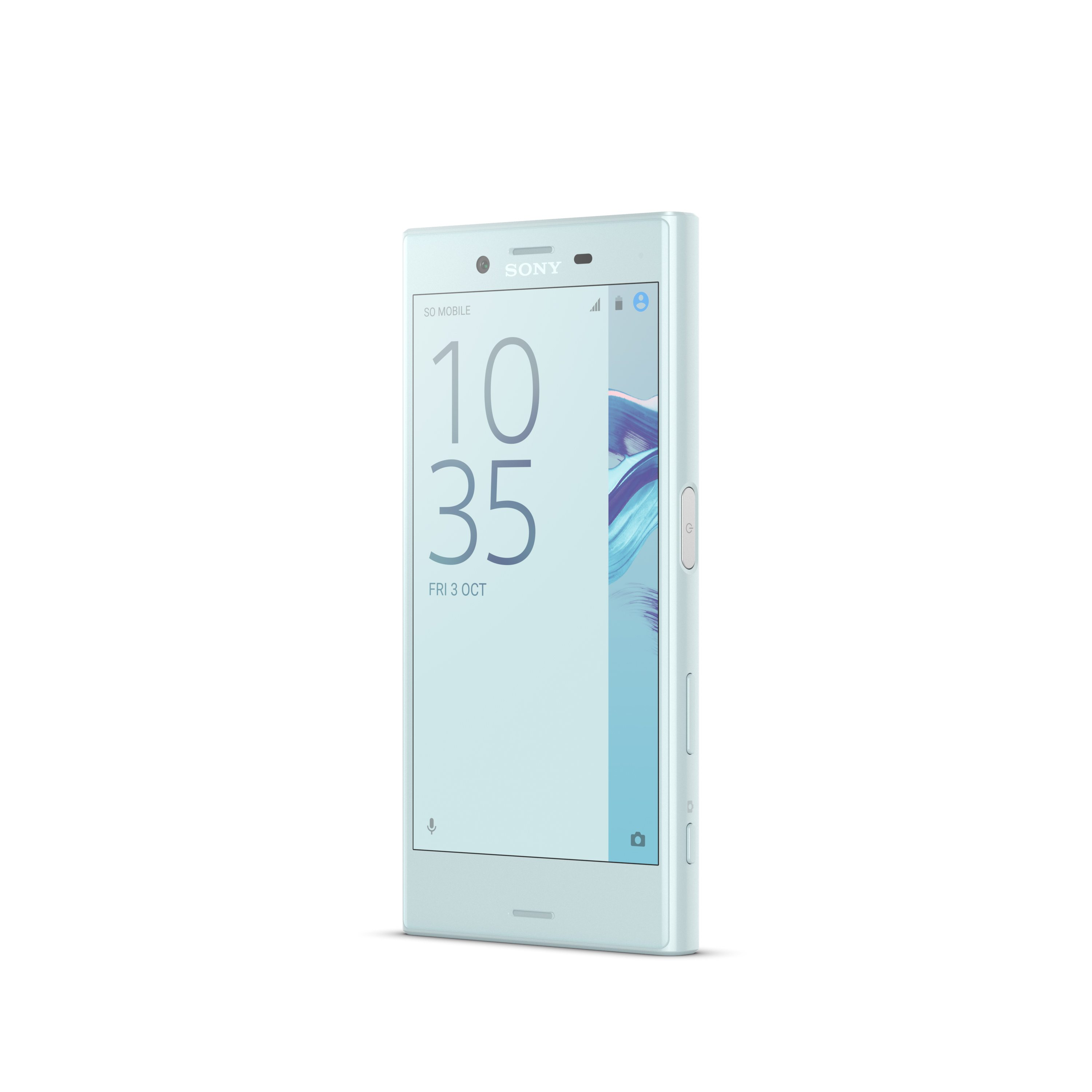 Sony Xperia X Compact Mist Blue Front 2