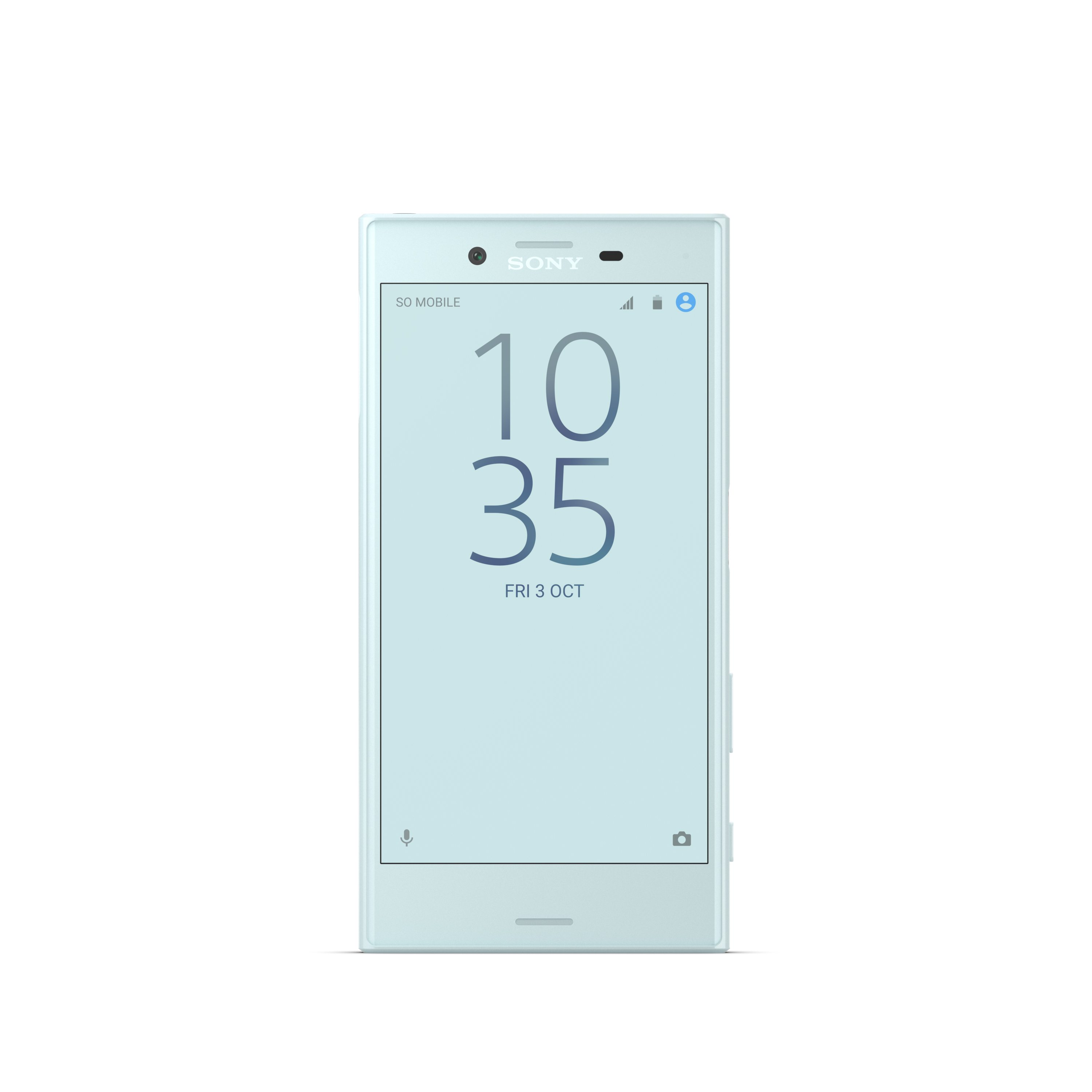 Sony Xperia X Compact Mist Blue Front