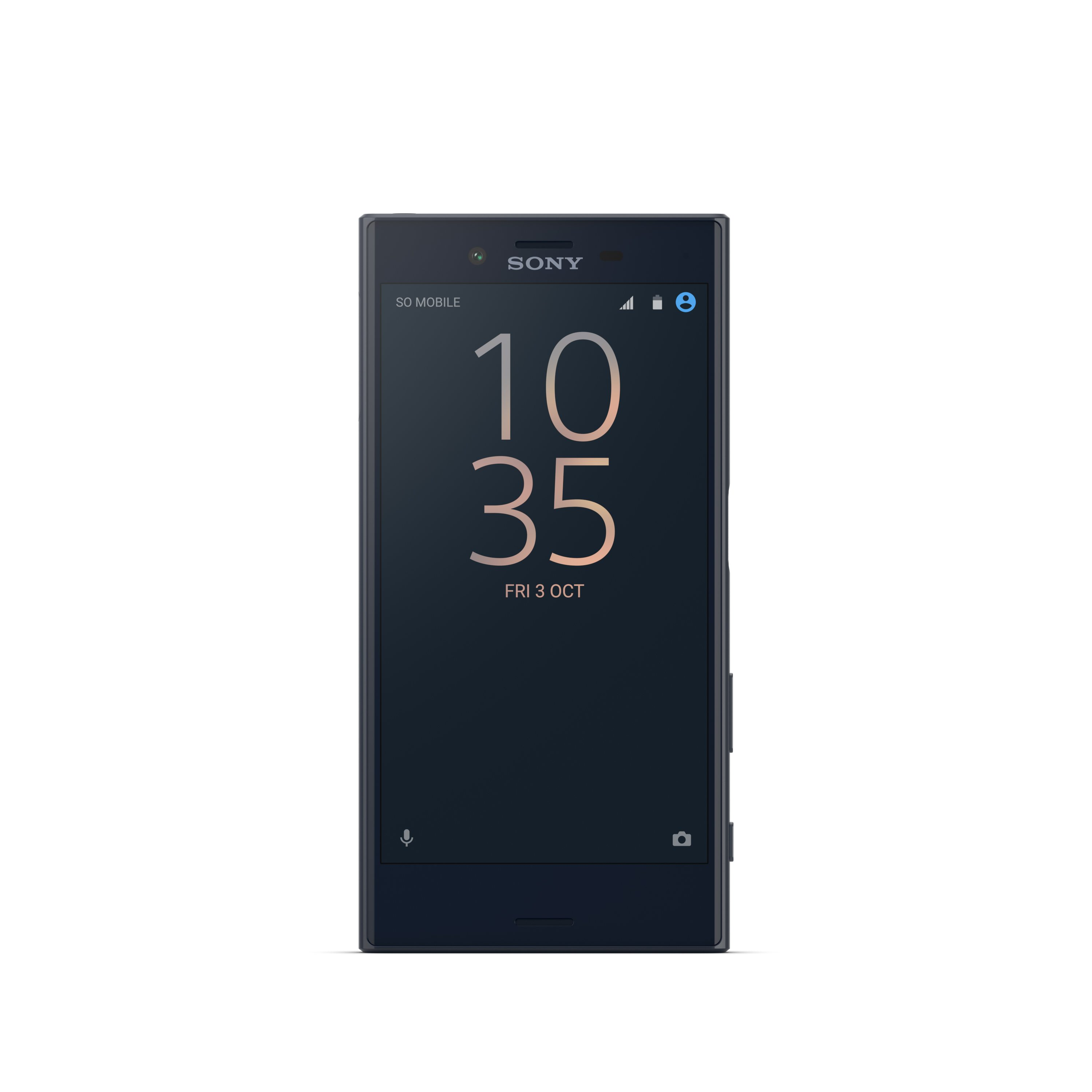Sony Xperia X Compact Universe Black Front
