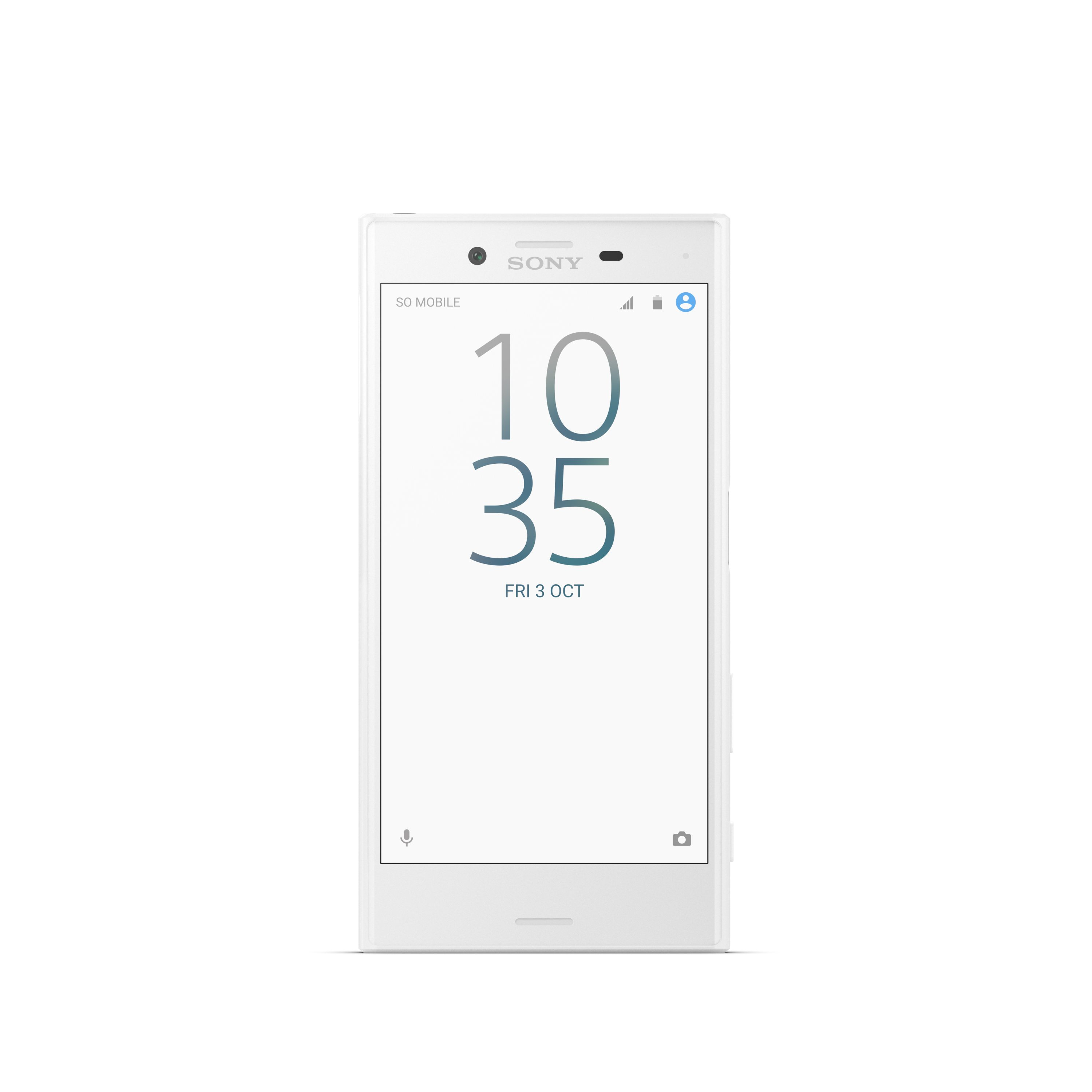 Sony Xperia X Compact White Front 1