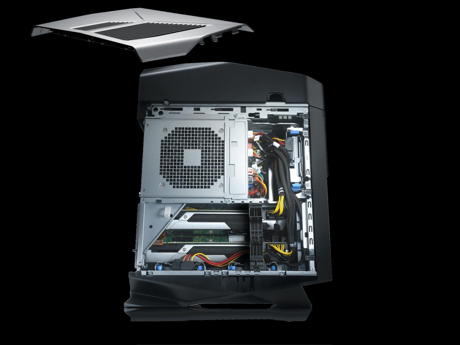 В русской столице представили самый мощнейший игровой компьютер Alienware Aurora R5