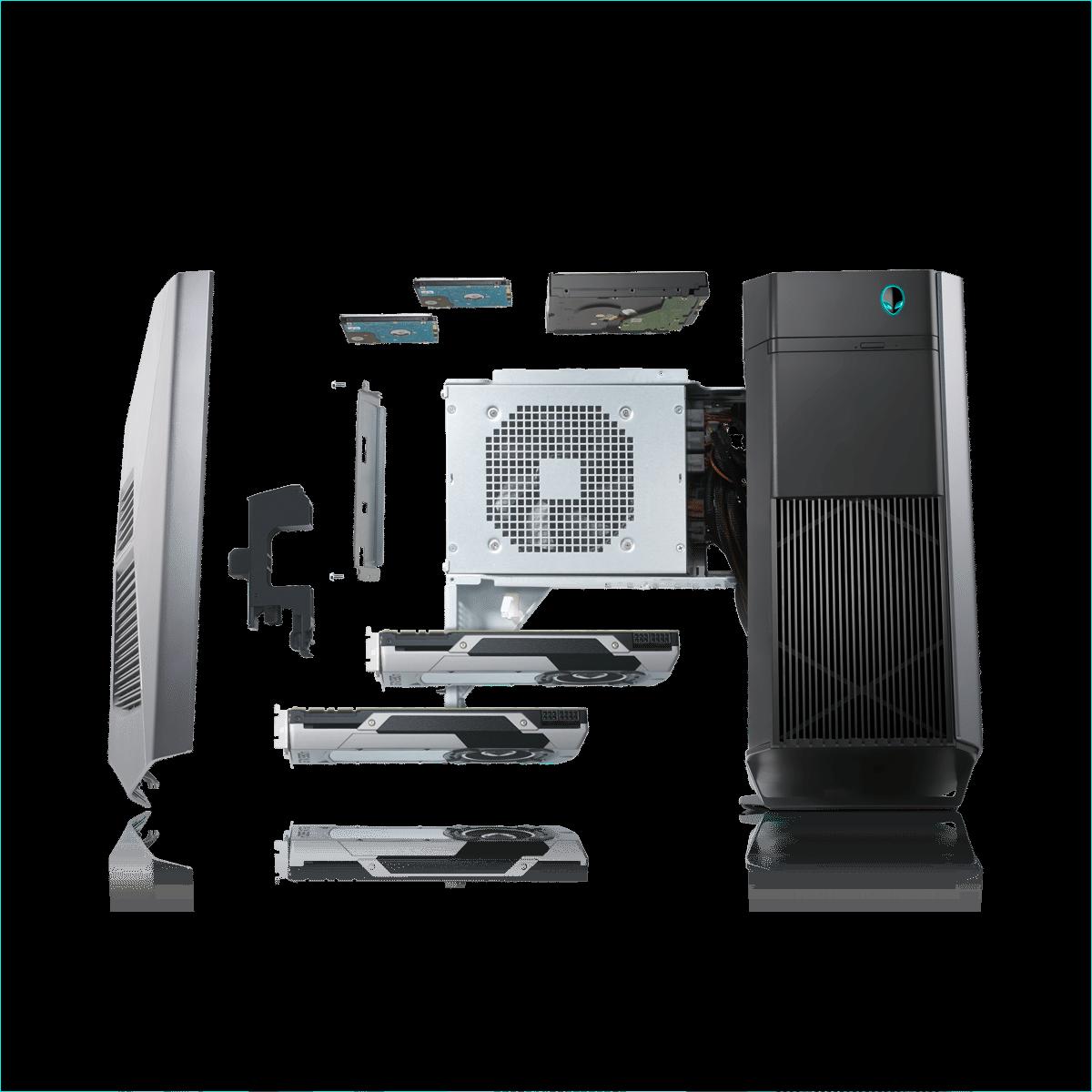 Компактный Alienware Aurora с 2-мя видеокартами выходит в РФ