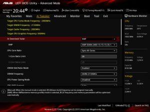 ASUS H170 Pro Gaming bios