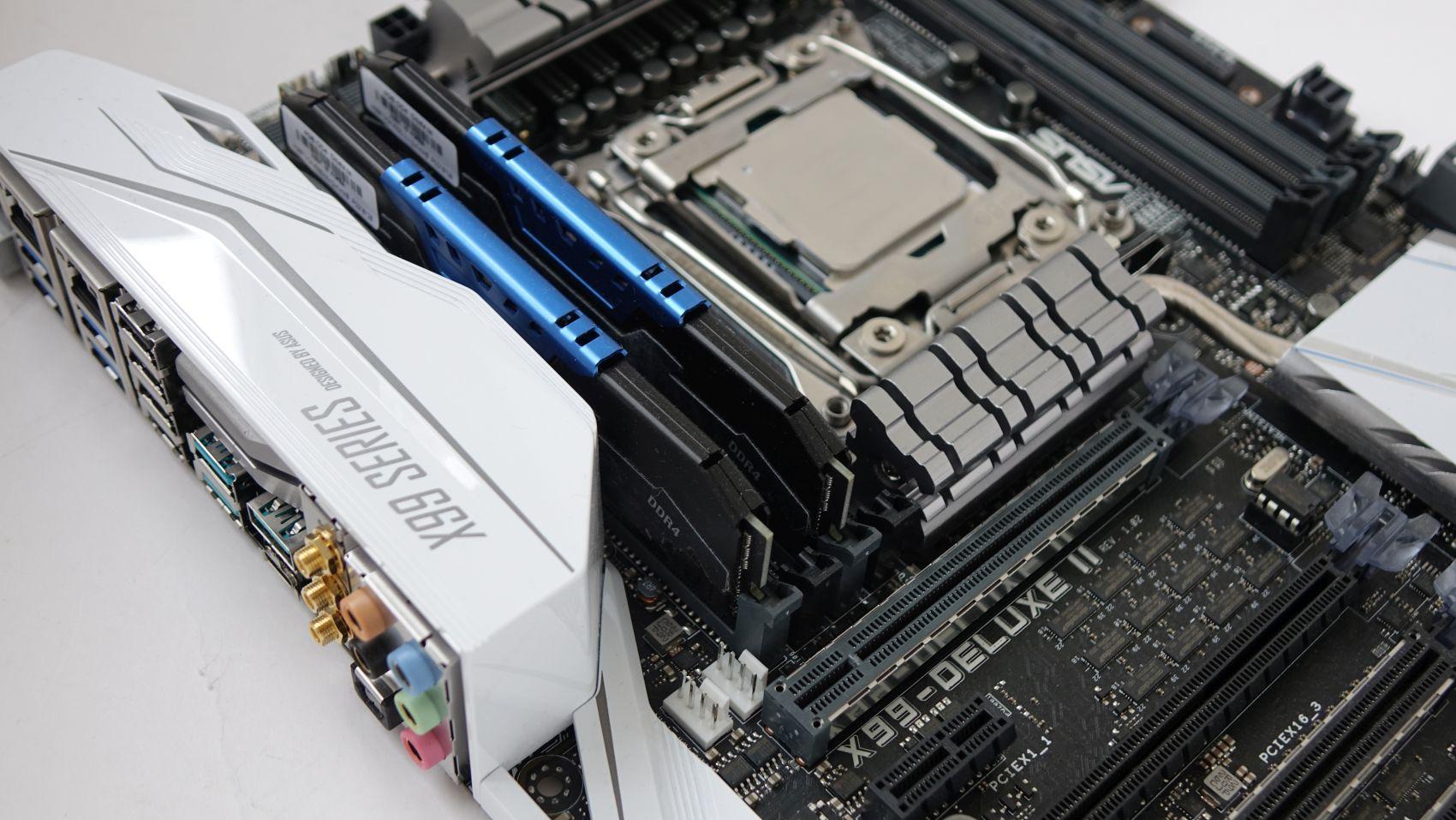 Intel Xeon E5-2620 v4 on asus x99
