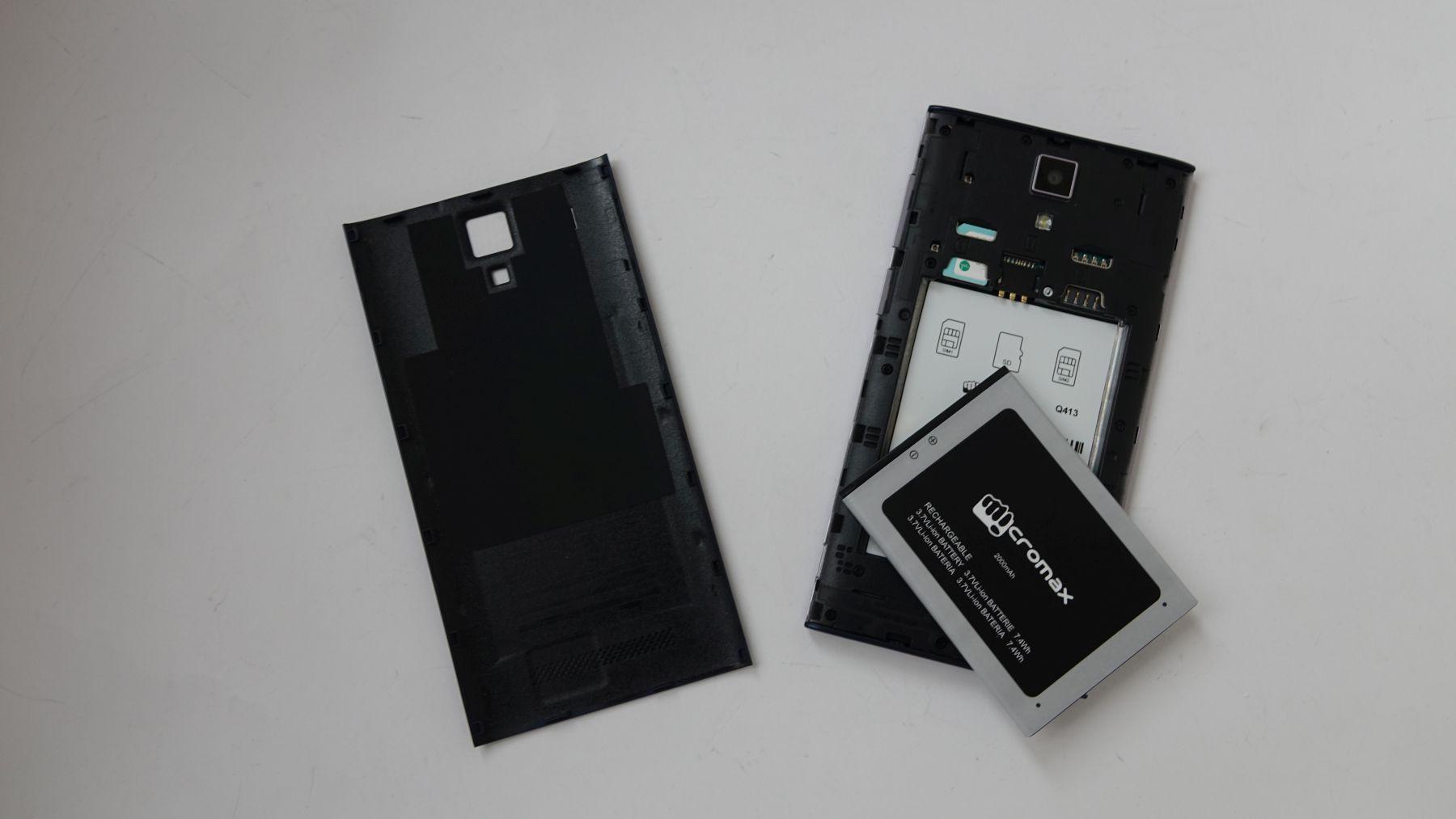 Micromax Q413 аккумулятор