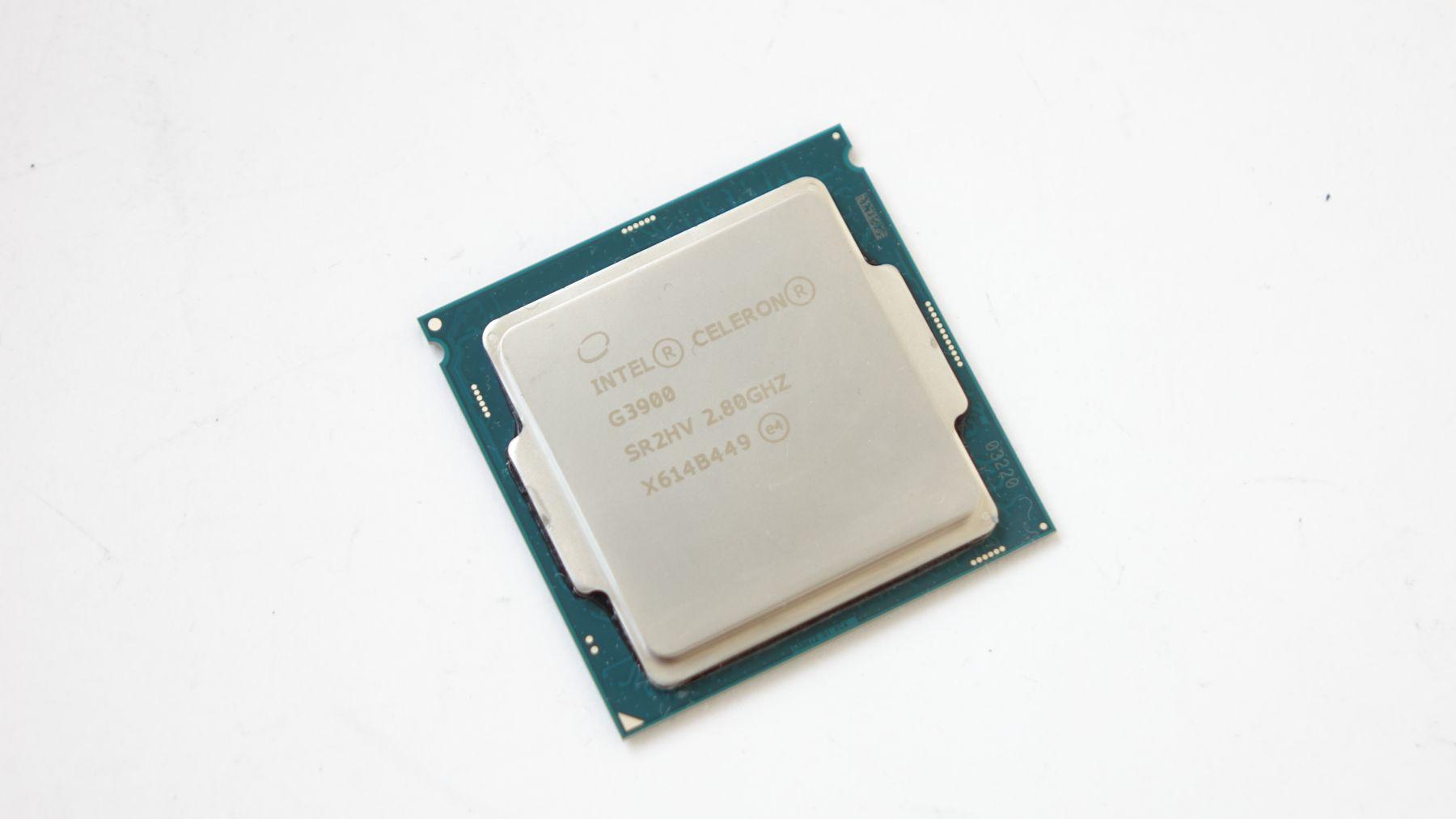 Intel Celeron G3900 крышка