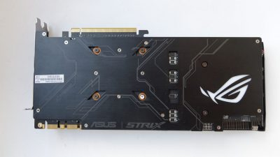 ASUS ROG Strix GeForce GTX 1070 back