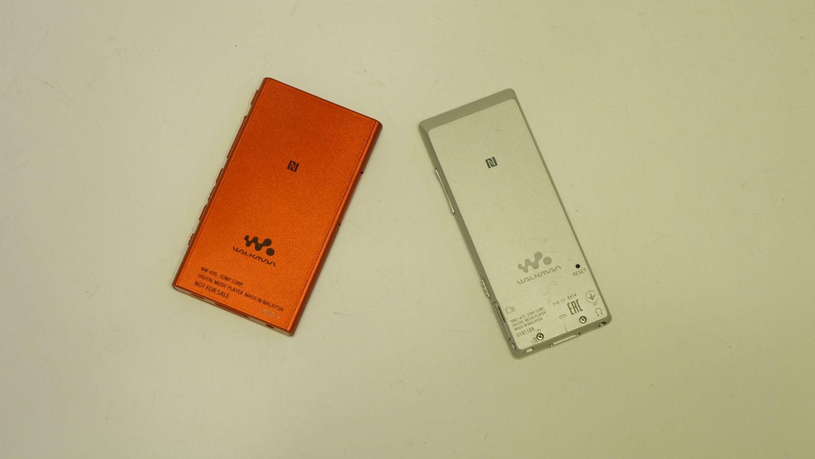 Сравнение двух плееров Sony