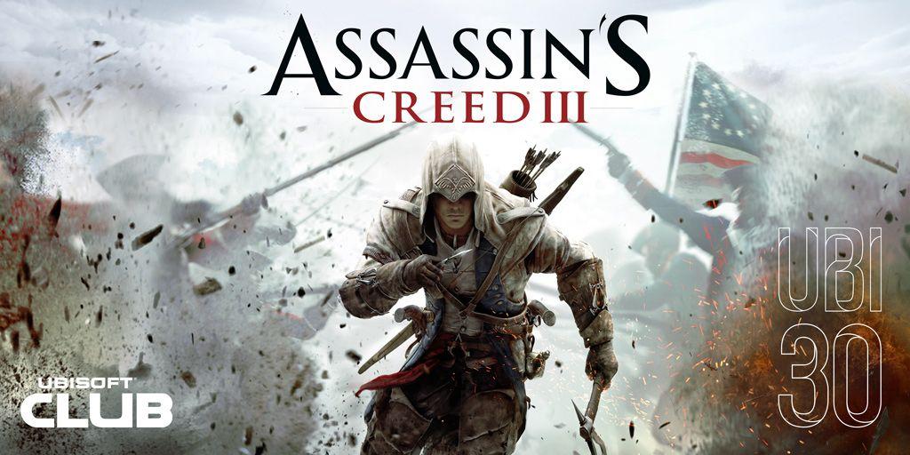 Assassin's Creed III будет бесплатным зимой