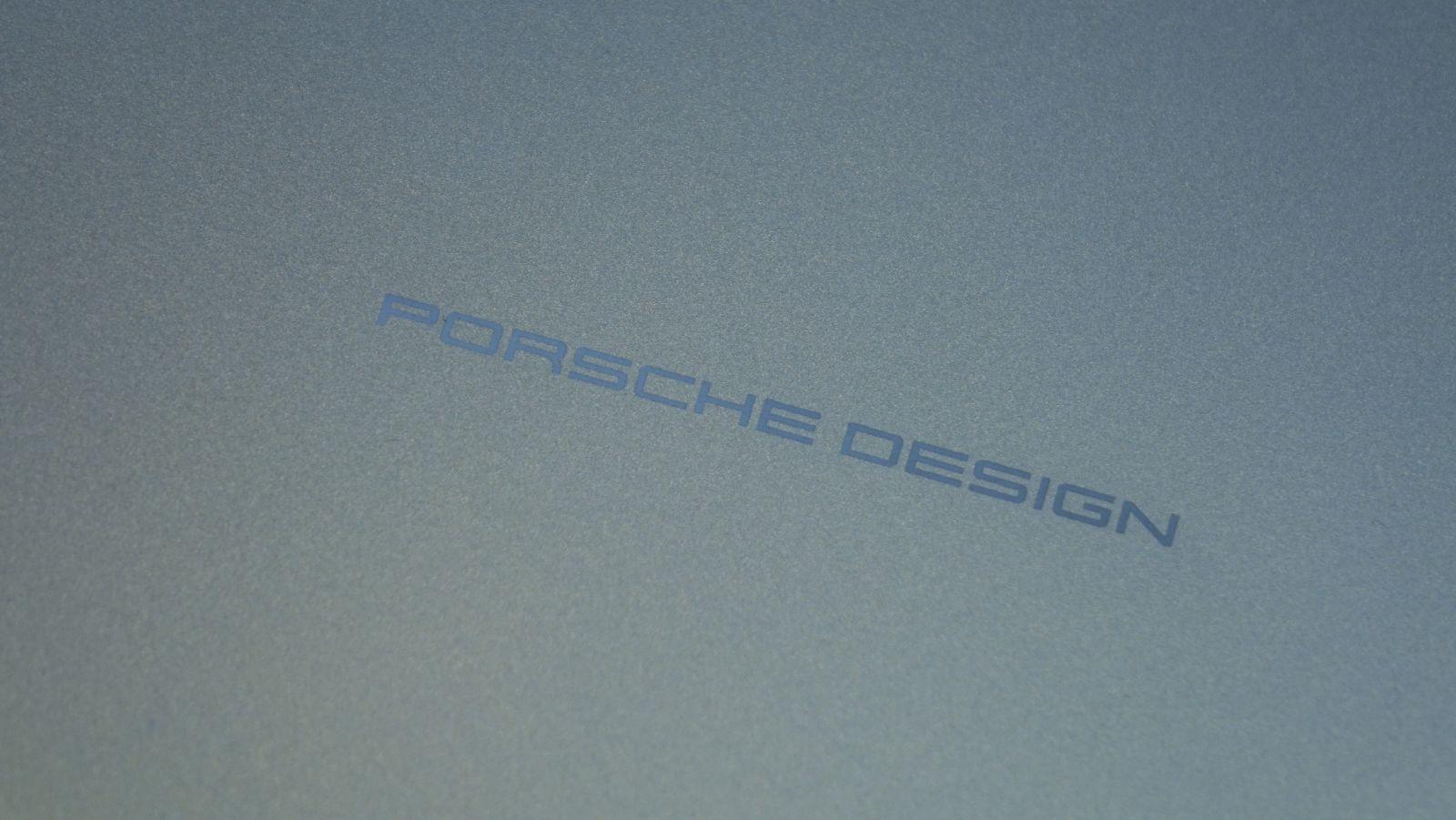 LaCie Porsche Design Desktop Drive logo