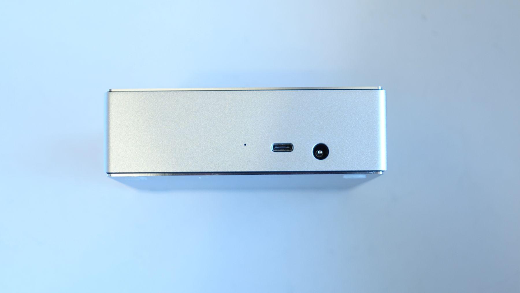 LaCie Porsche Design Desktop Drive ports
