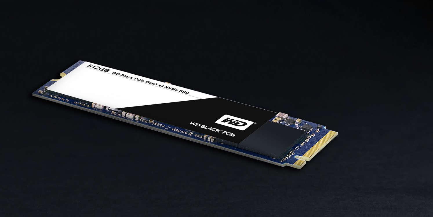 Напредприятии  Western Digital показали твердотельные накопителиWD Black PCIe