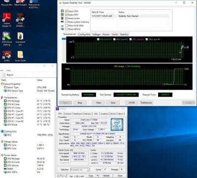4,8 ГГц с активным AVX приложением