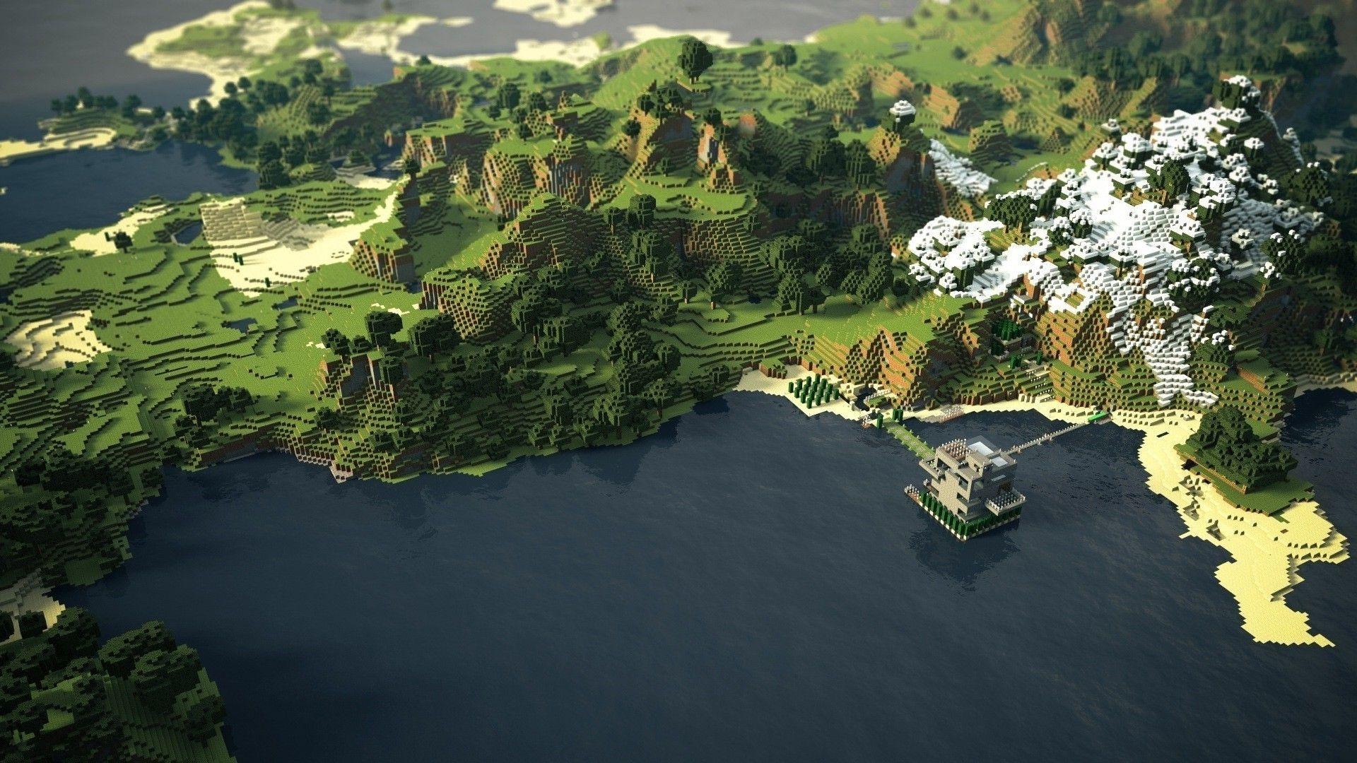 ВMinecraft каждый месяц играют больше 55 млн. человек