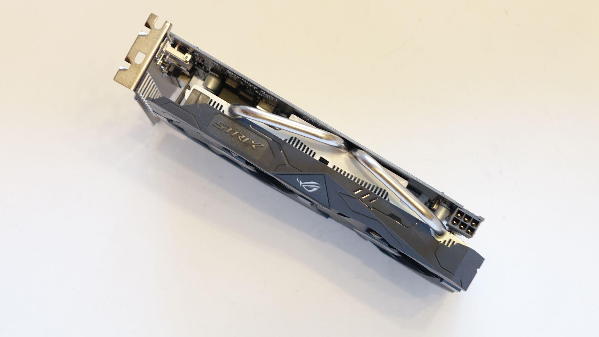 ASUS ROG Strix RX 460 трубки