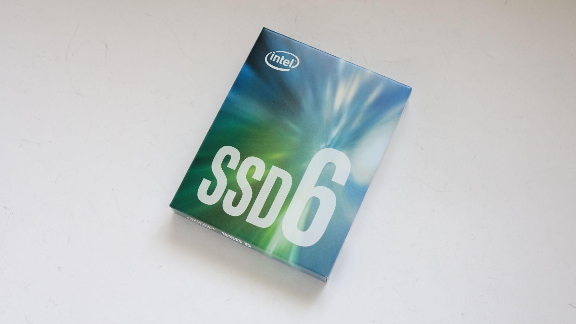 Intel SSD 600p 512 Гбайт упаковка
