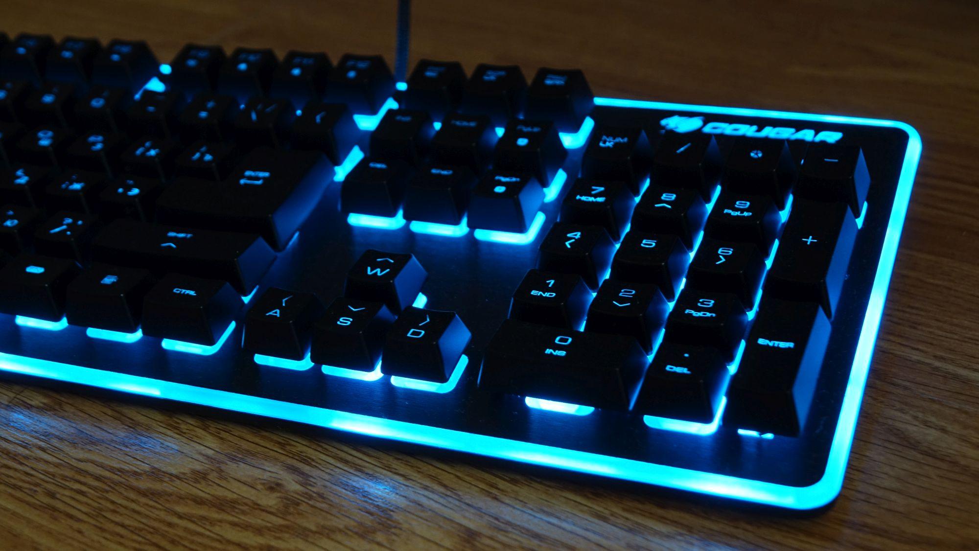 Cougar Deathfire EX переключатели клавиатуры