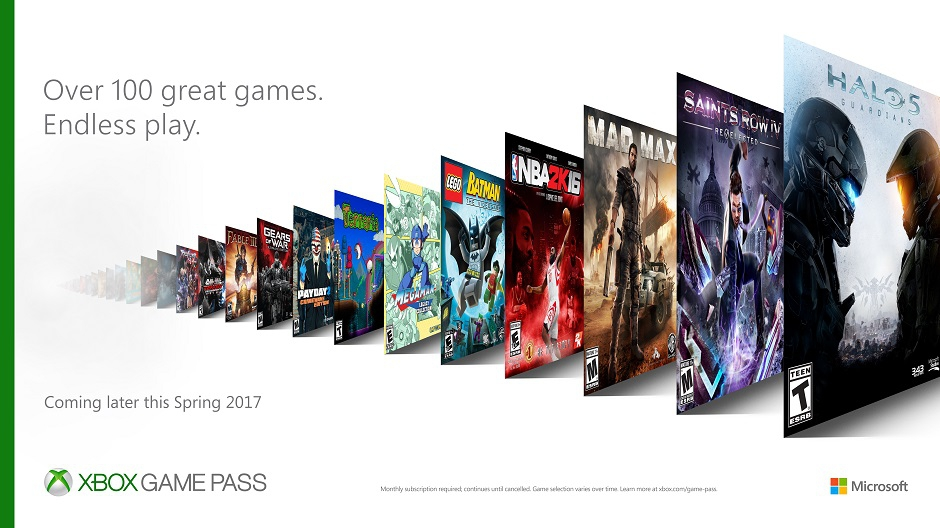 Стали известны детали о Microsoft Xbox Game Pass