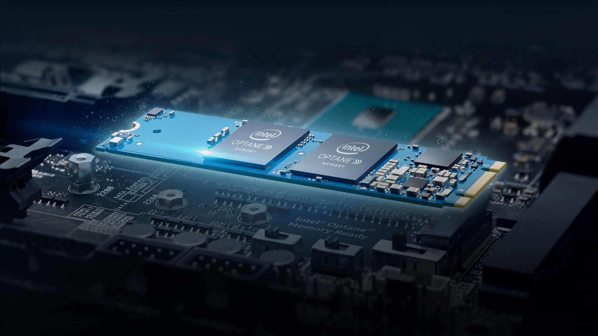 Intel: накопитель Optane дает возможность компьютерам работать вдвое скорее