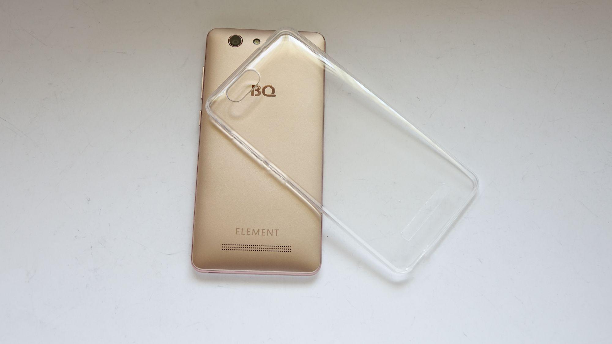 BQ Element силиконовый чехол