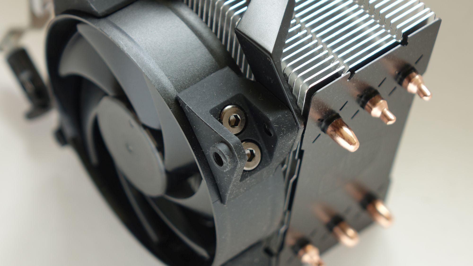 Cooler Master MasterAir Pro 3 антивибрация