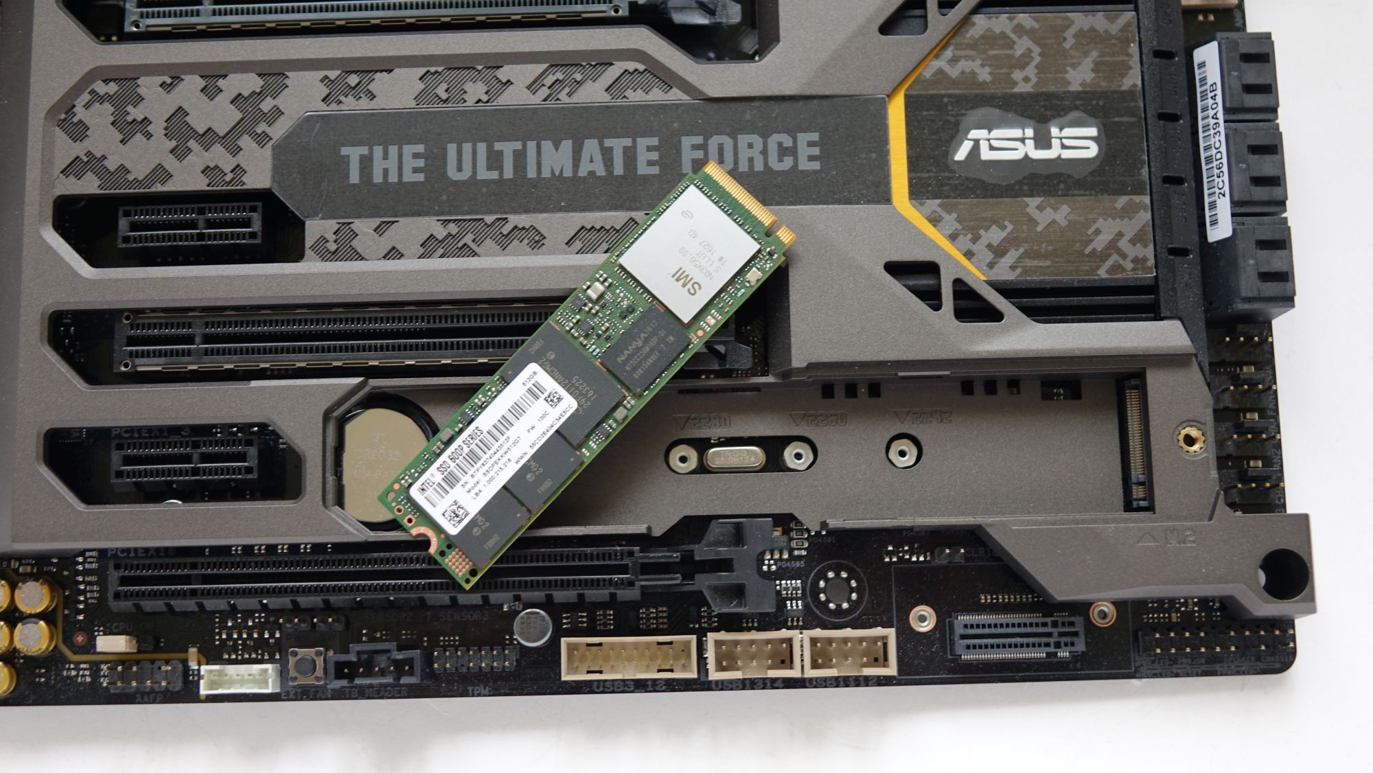 ASUS TUF Z270 Mark 1 и ssd