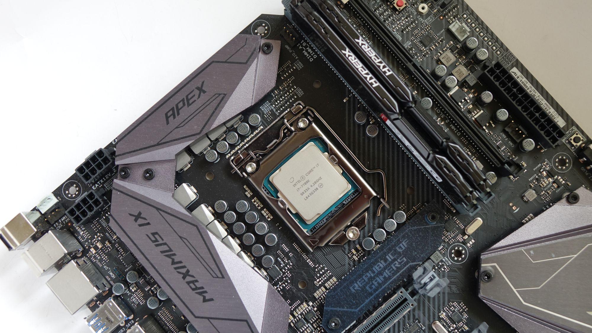 ASUS ROG Maximus IX Apex core i7-7700k