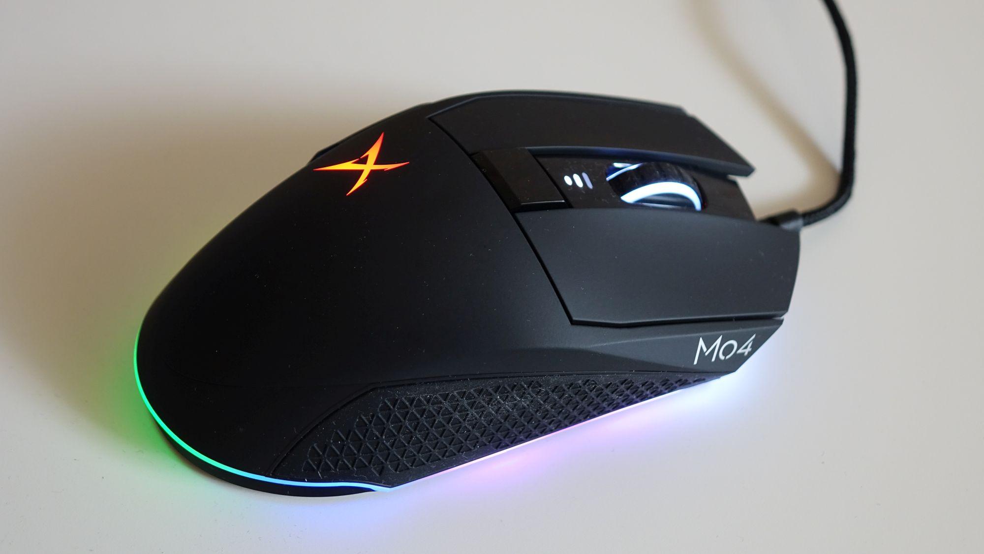 Creative Sound BlasterX Siege M04 подсветка