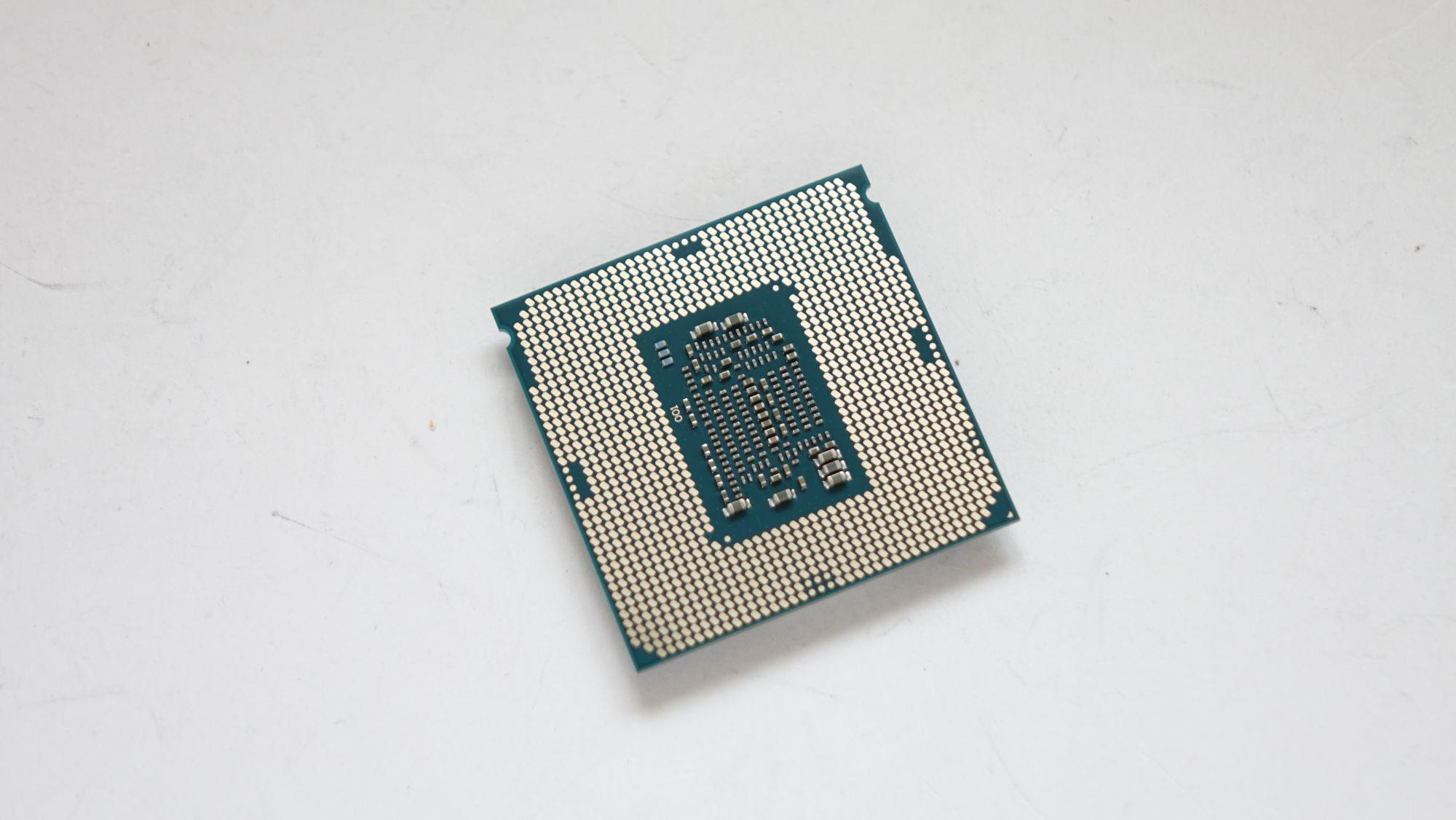 Intel Core i7-7700K контакты