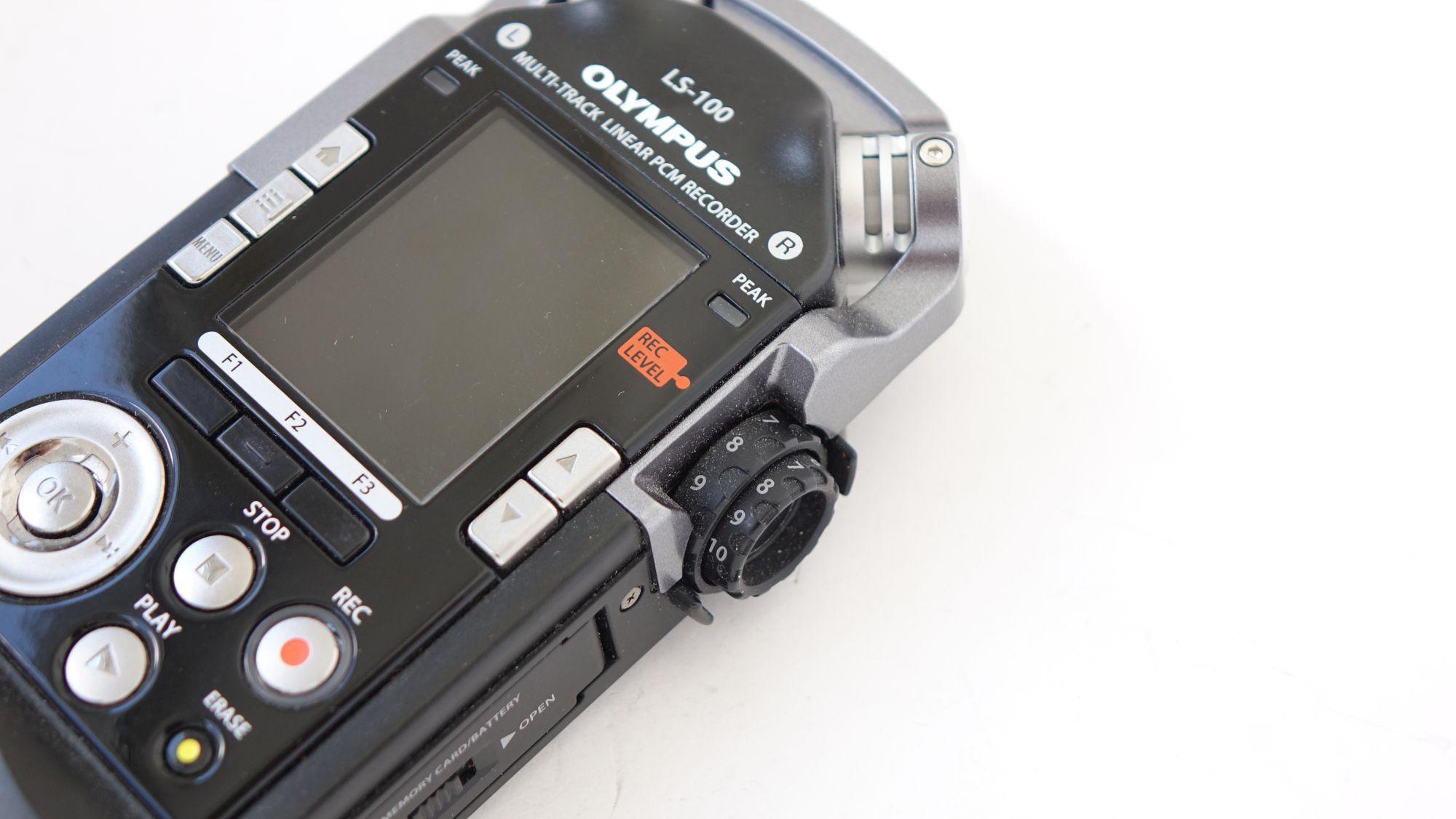 Olympus LS-100 кнопки