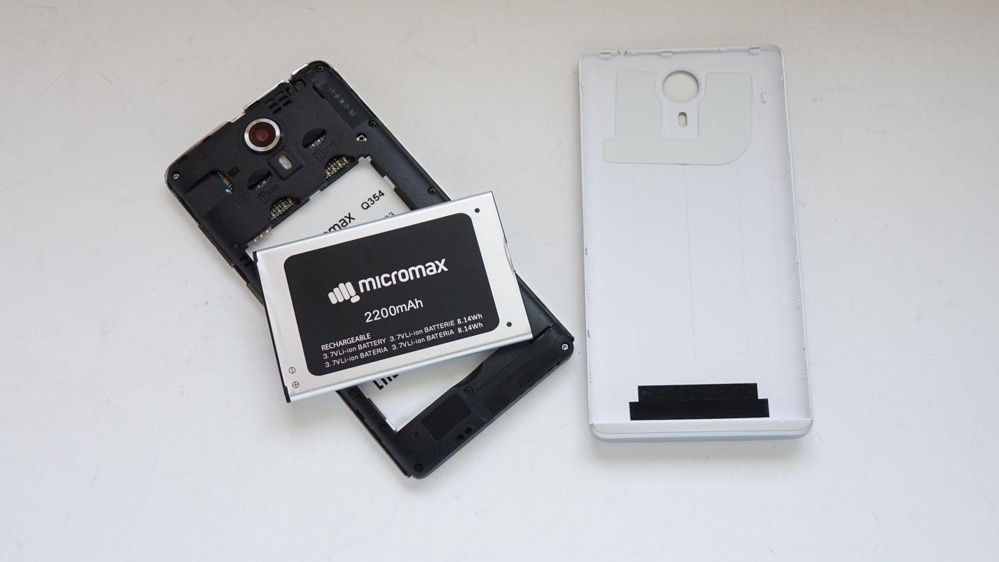 Комплектация Micromax Q354