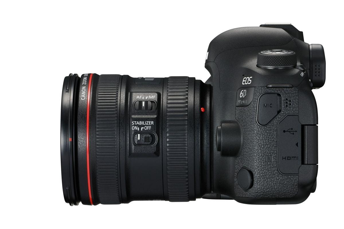 Небольшая зеркальная камера Canon EOS 200D