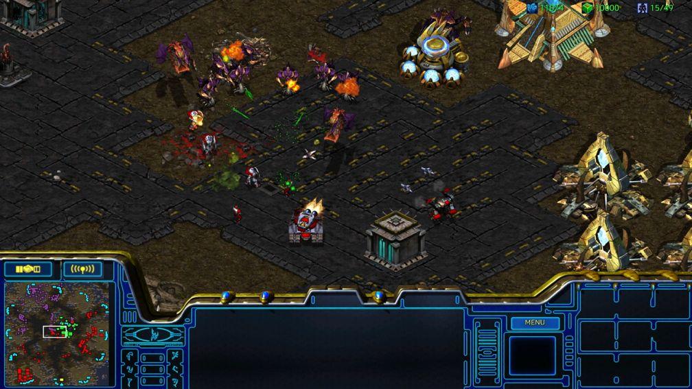 Blizzard выпустила ремастер StarCraft
