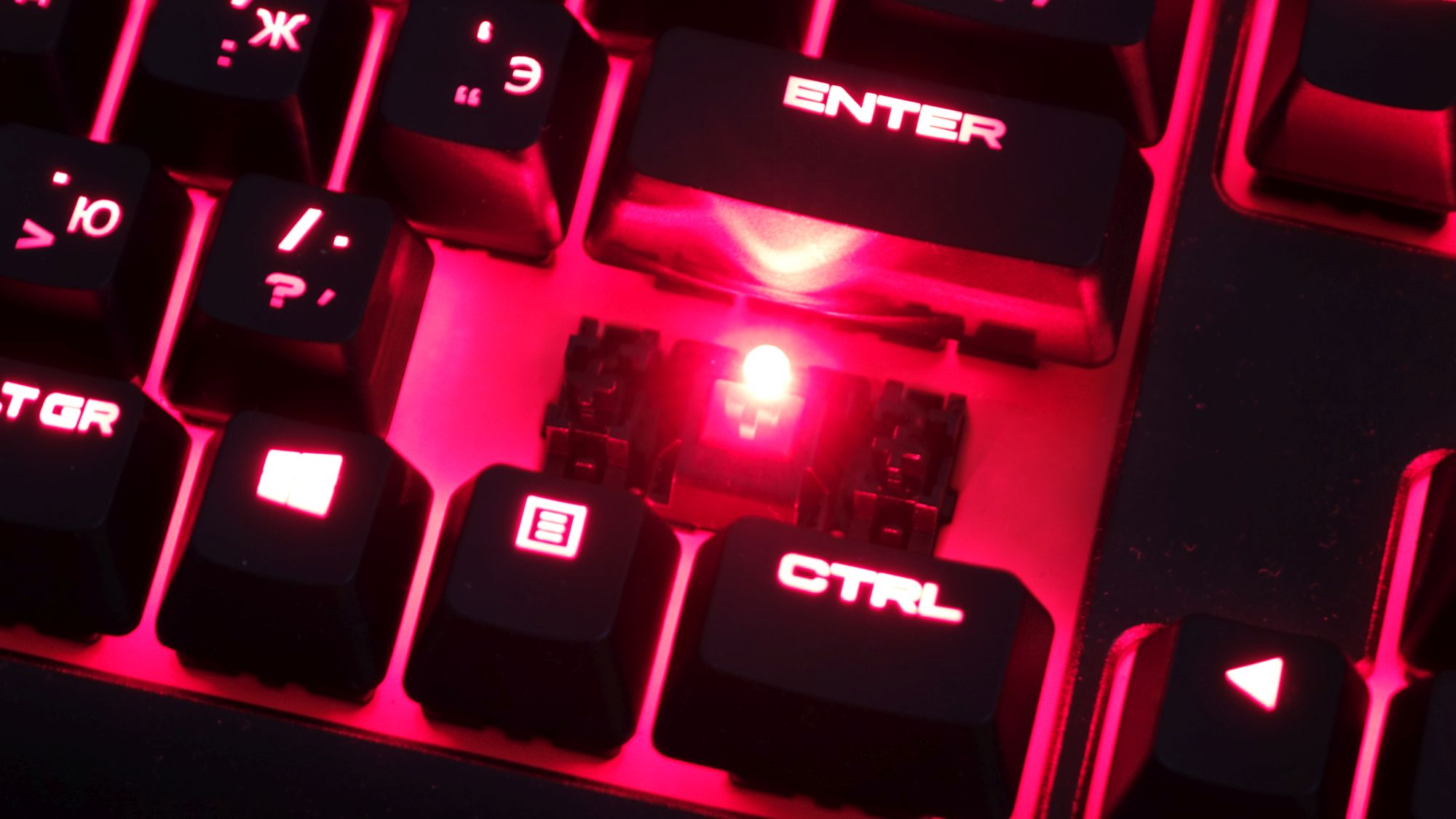 Corsair K63 led