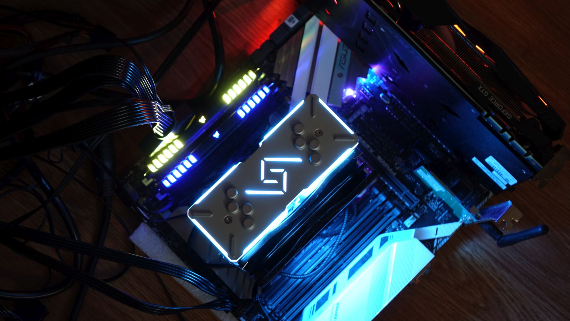 Deepcool GAMMAXX GT подсветка