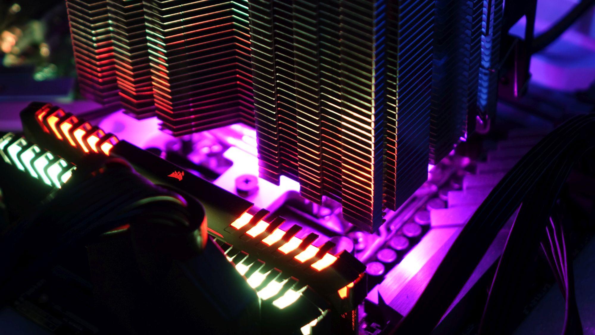 Cryorig H7 Quad Lumi подсветка снизу