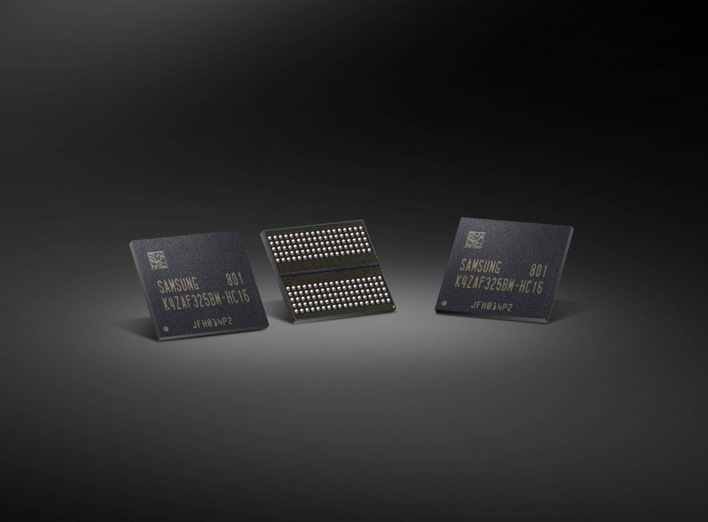 Самсунг начала производство памяти GDDR6 для видеокарт и иных систем
