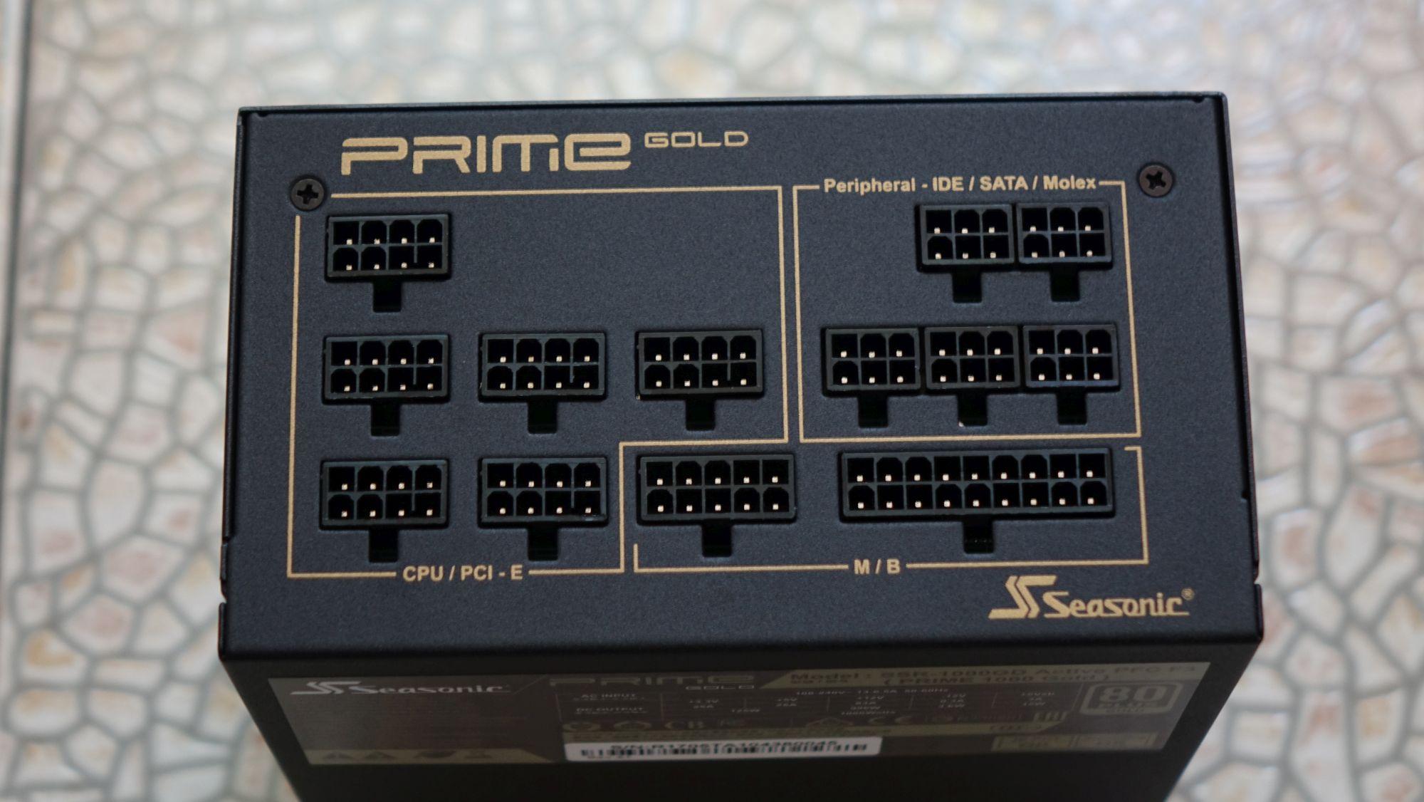 Seasonic Prime Gold коннекторы
