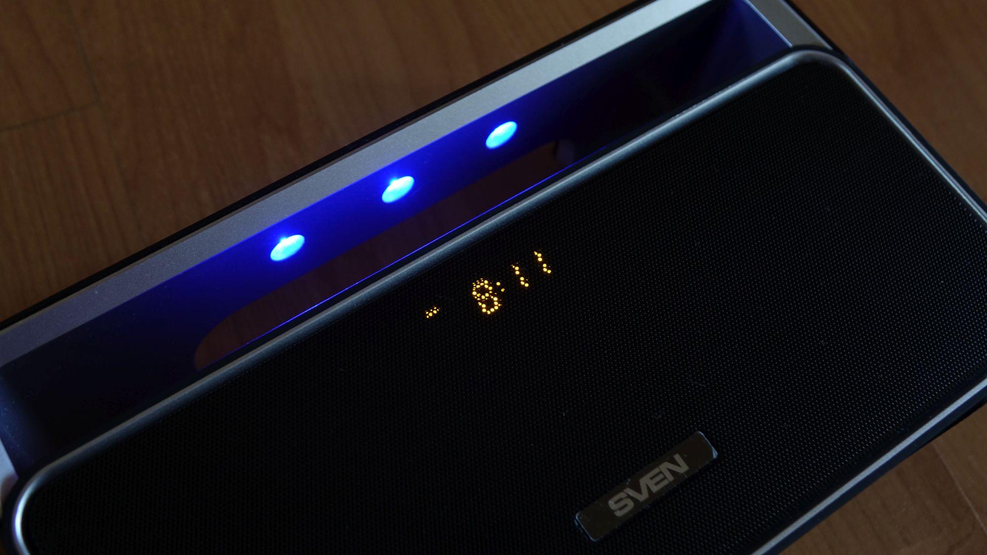 SVEN PS-185 дисплей