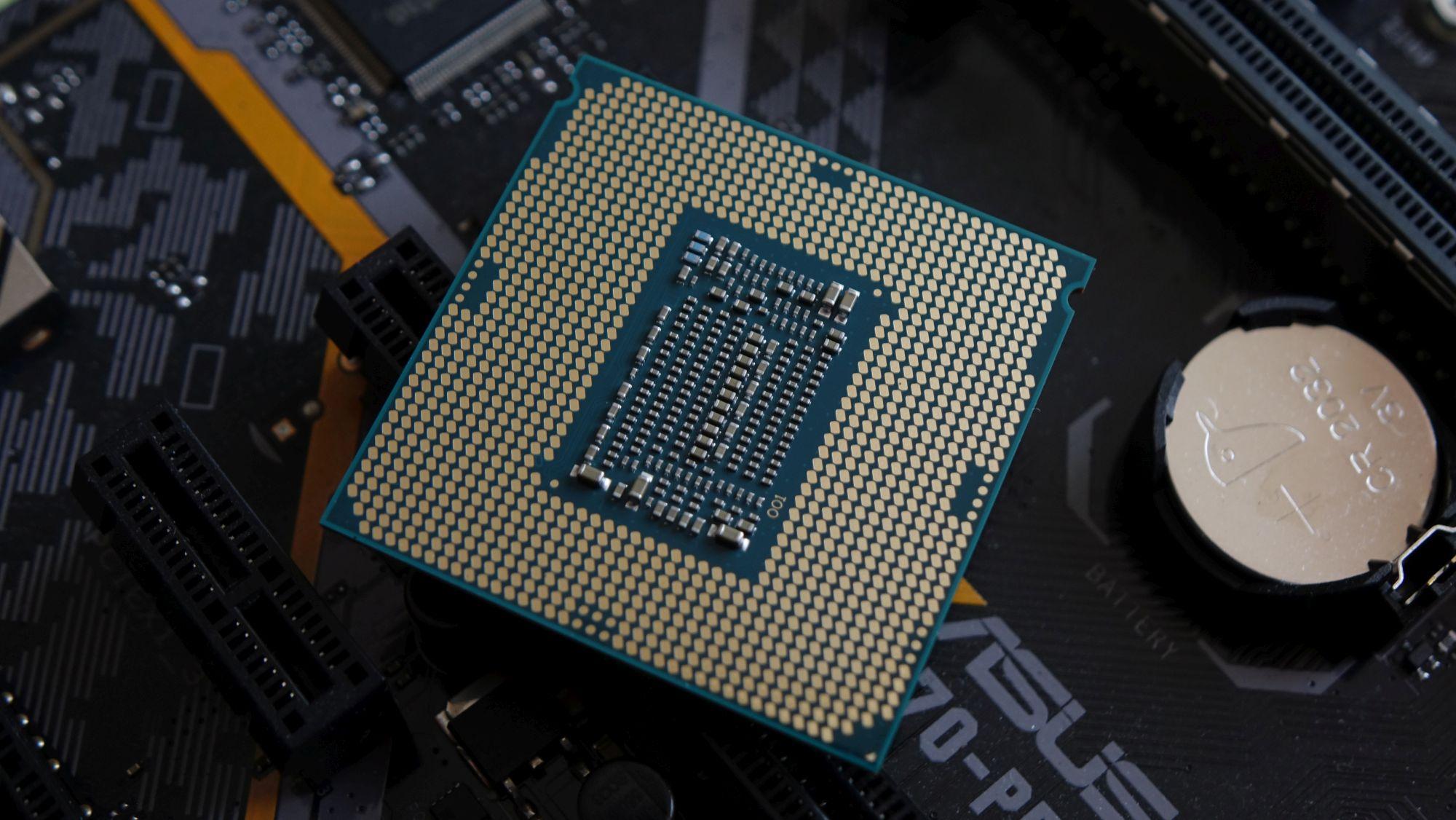 Intel Core i7-8700K контакты