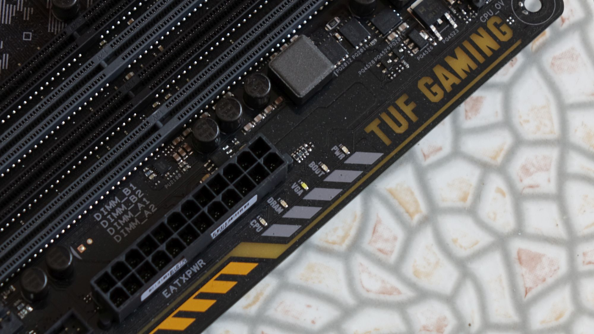 ASUS TUF Z370-Pro Gaming POST