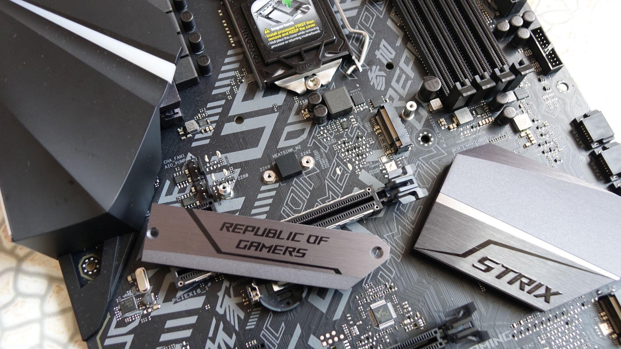ASUS ROG Strix H370-F Gaming ssd