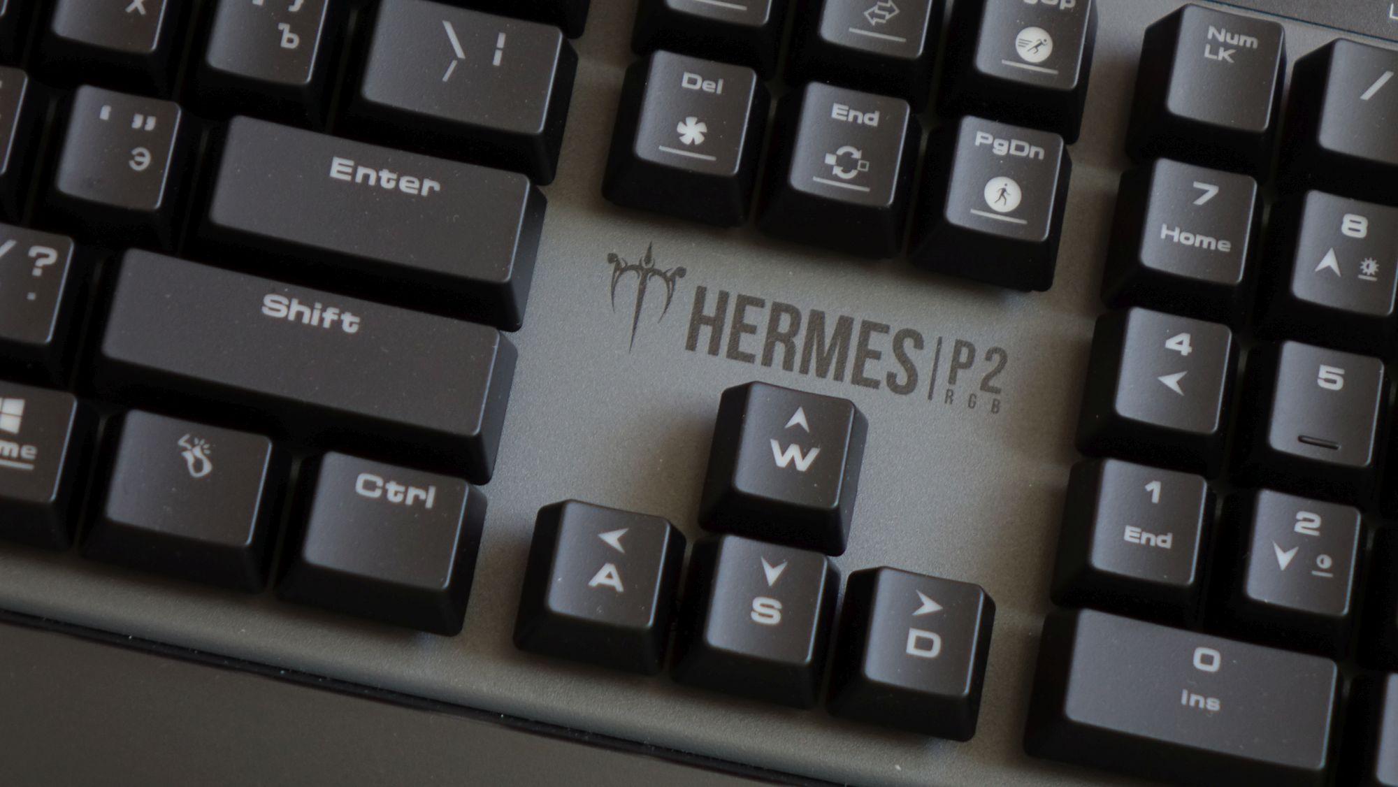 Gamdias Hermes P2 RGB кнопки