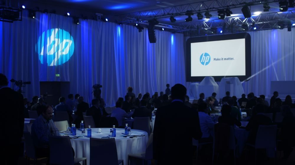 HP Fall Printing Event в Барселоне