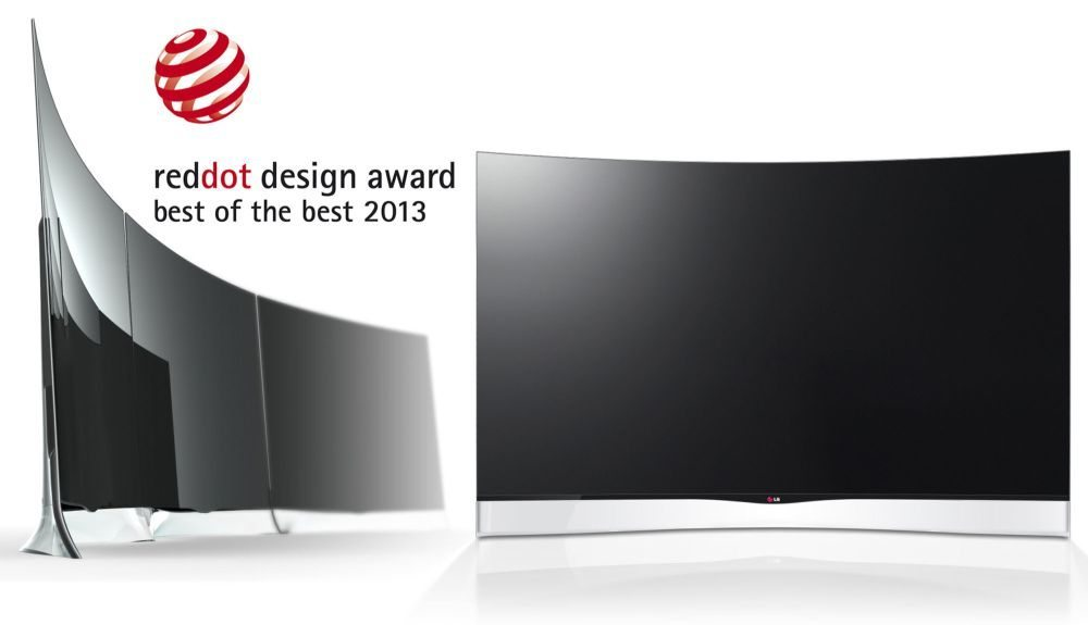 Red dot Best of the Best LG Curved OLED TV Mar13
