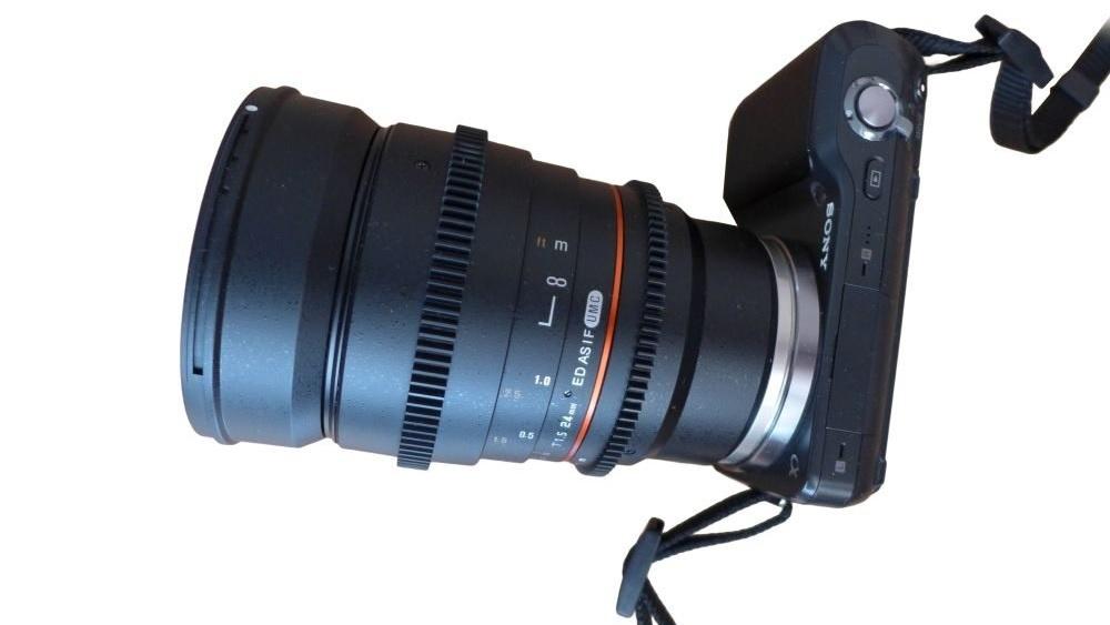 Samyang 24mm T1.5 ED AS UMC VDSLR Sony-E
