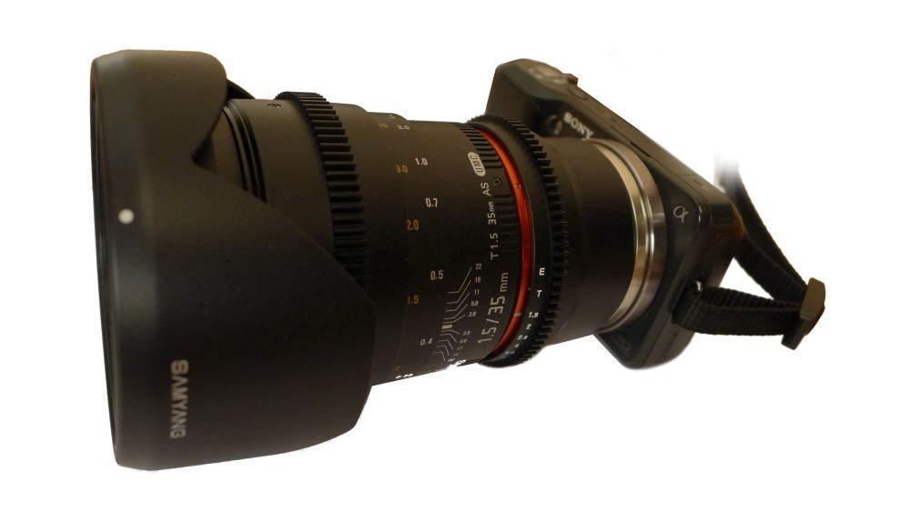 Samyang 35mm T1.5 ED AS UMC VDSLR Sony-E